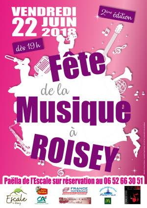 fête de la musique 2018 Roisey